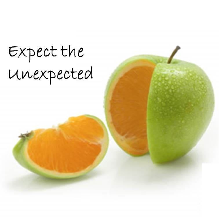 Expect The Unexpected...
